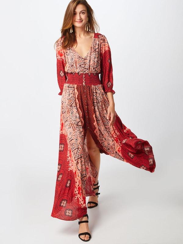 People En Rouge Robe D'été Rose' Free 'mexicali nX8kNOP0wZ