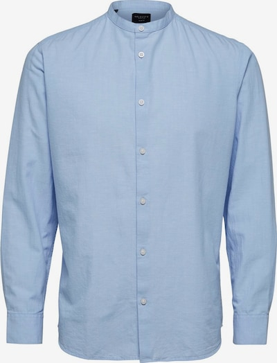 SELECTED HOMME Leinen Hemd in hellblau, Produktansicht