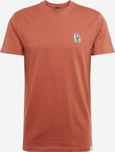 Iriedaily T-Shirt Bye Bye in rot, Produktansicht