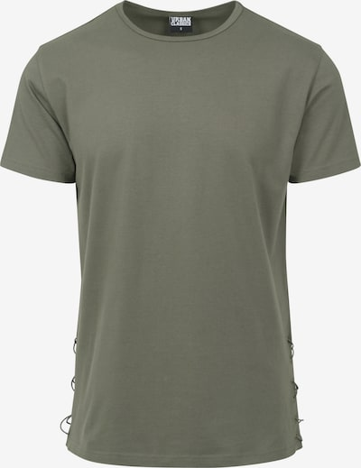 Urban Classics Long Tee in oliv: Frontalansicht