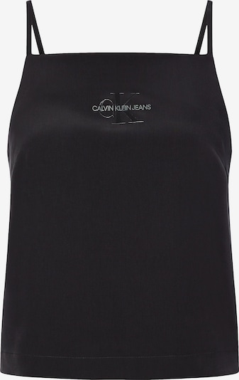Calvin Klein Jeans Top in schwarz, Produktansicht