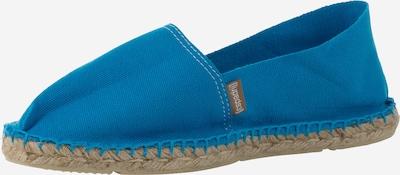 espadrij l´originale Espadrilles mit gummierter Sohle 'Classic' in blau / aqua, Produktansicht