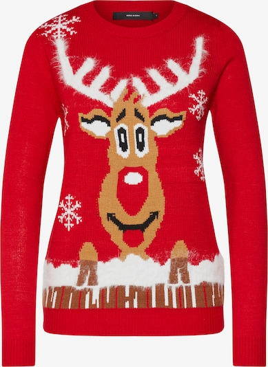 VERO MODA Pullover in rot, Produktansicht