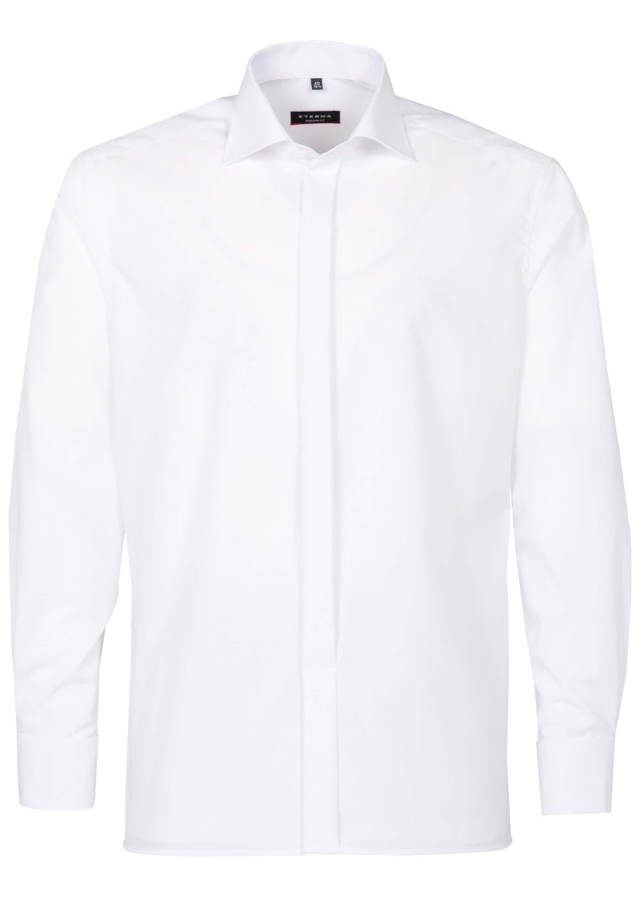 Modern Langarm Fit In Hemd Weiß Eterna vwm8nON0