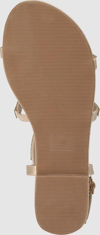 d3afeefacb BUFFALO Sandále  EMIRA  vo farbe zlatá