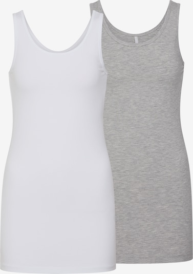 ONLY Top - šedá / bílá, Produkt