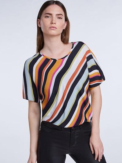 SET Bluzka w kolorze pomarańczowy / różowy / czarnym: Widok z przodu