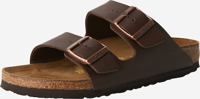 BIRKENSTOCK Pantolette 'Arizona' i mörkbrun, Produktvy