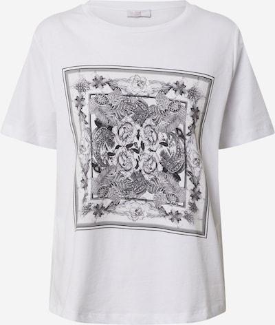 Marškinėliai iš Riani , spalva - antracito / margai pilka / balta, Prekių apžvalga
