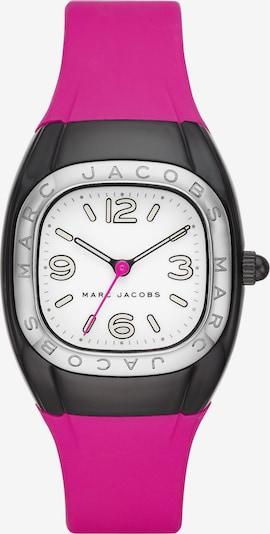 Marc Jacobs Uhr 'MJ1648' in dunkelpink / schwarz / silber / weiß, Produktansicht