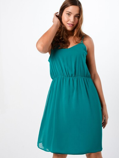 ABOUT YOU Curvy Kleid 'Caitlin' in petrol, Produktansicht