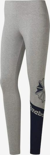 Reebok Classic Leggings in grau / schwarz, Produktansicht