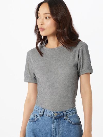AMERICAN VINTAGE T-shirt 'VALOW' en gris / anthracite: Vue de face