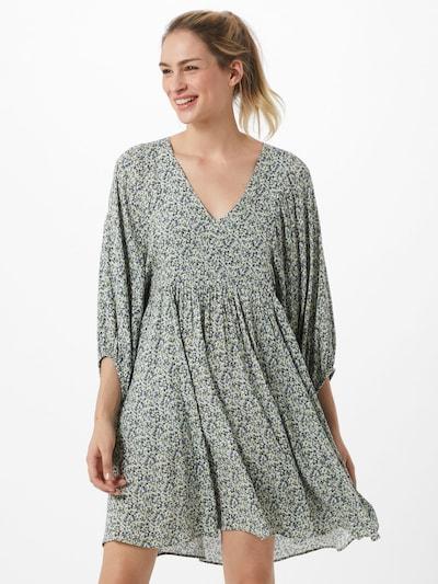 mbym Kleid 'Dortea' in blau / weiß, Modelansicht