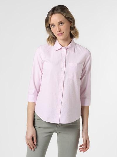 Marie Lund Bluse ' Mandy-Oxford ' in pink, Modelansicht
