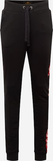 ALPHA INDUSTRIES Pantalon 'RBF Tape Jogger' en noir: Vue de face