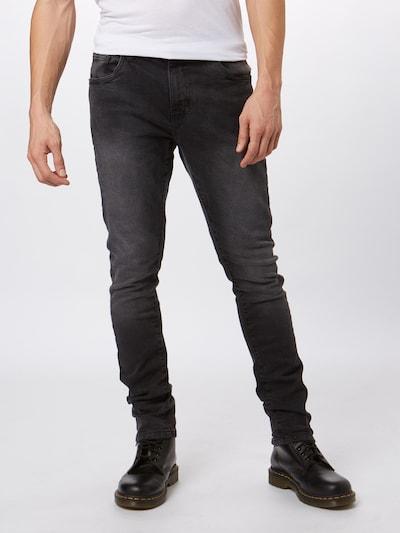 Urban Classics Džinsi 'Slim Fit' pieejami melns džinsa: Priekšējais skats