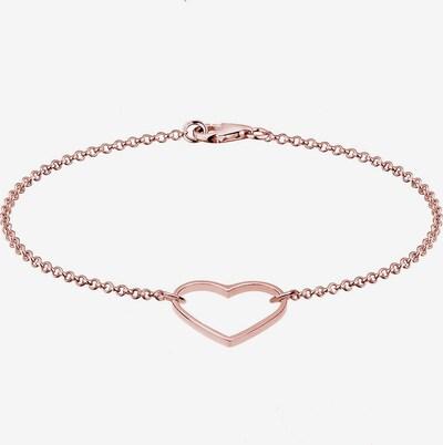 ELLI Armband 'Herz' in rosegold, Produktansicht