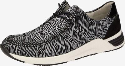 SIOUX Schnürschuh 'Grash' in schwarz / weiß, Produktansicht