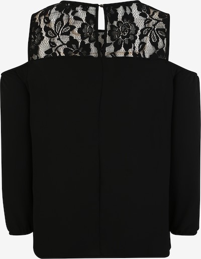 ABOUT YOU Curvy Blusenshirt 'Mariette' in schwarz: Rückansicht