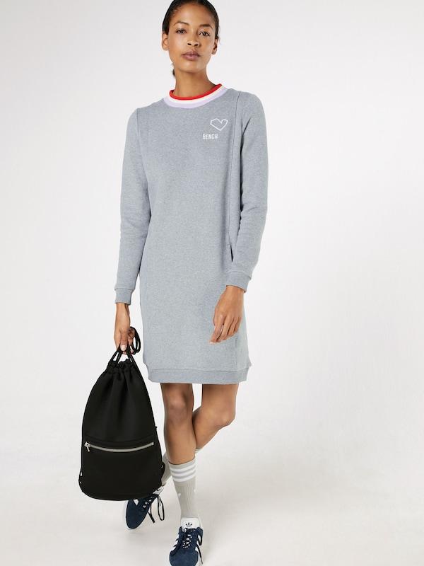 BENCH Modernes Sweatkleid