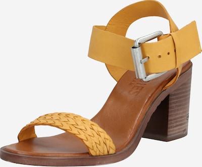 SHABBIES AMSTERDAM Sandale in gelb, Produktansicht