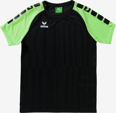 ERIMA Trainingsshirt in neongrün / schwarz, Produktansicht