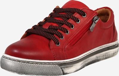 Batai su raišteliais iš COSMOS COMFORT , spalva - dūmų pilka / margai raudona / juoda, Prekių apžvalga