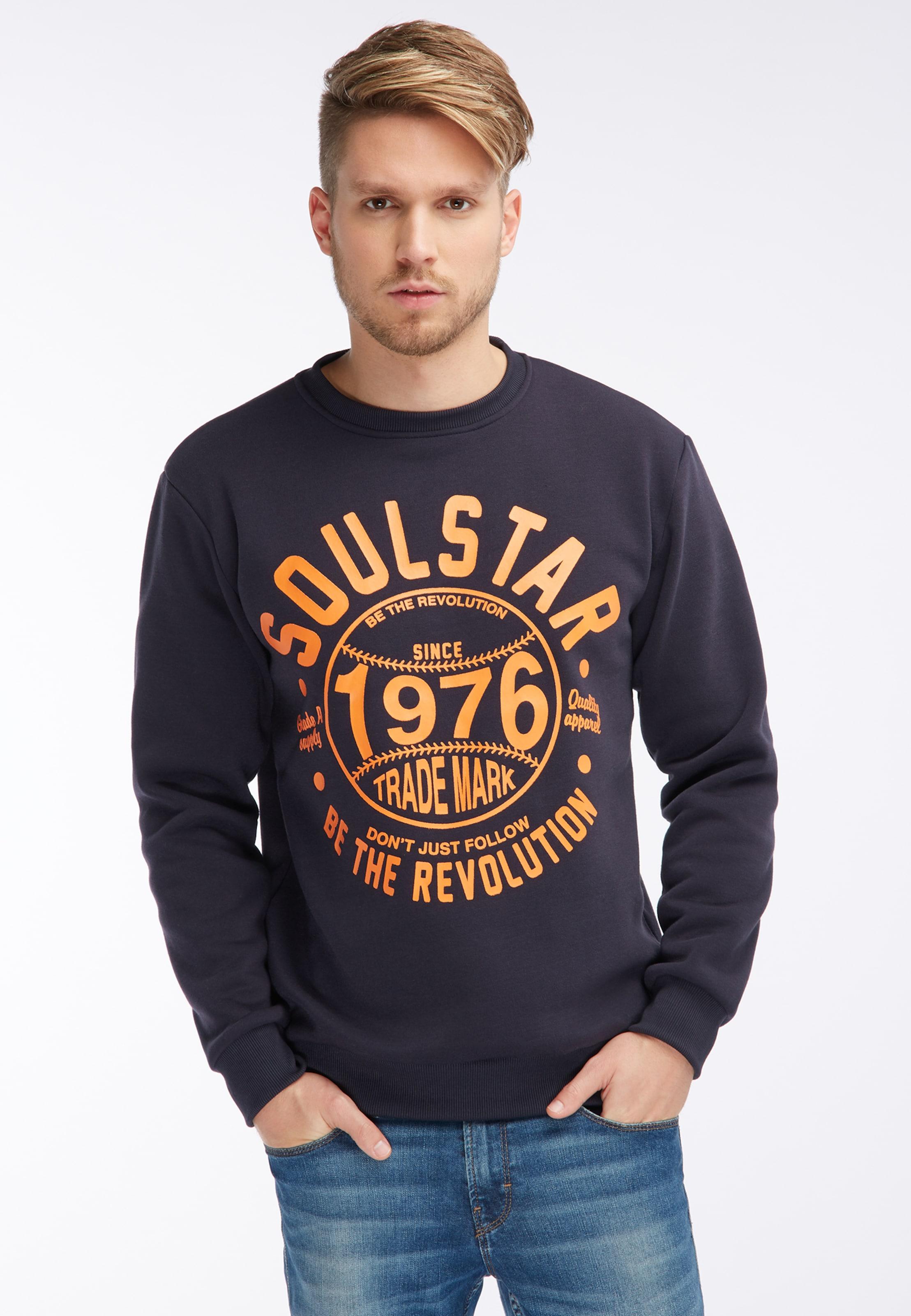 Soulstar In NachtblauOrange Pullover Pullover Soulstar nvON0w8m