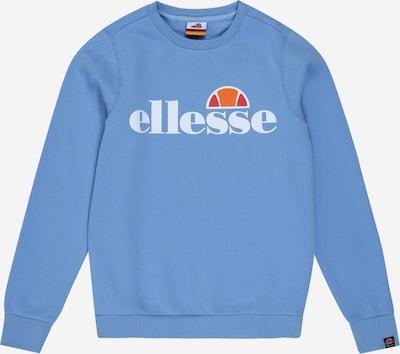 ELLESSE Sweatshirt 'Suprios' in hellblau / orange / rot / weiß, Produktansicht