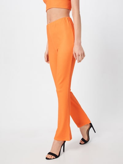 LeGer by Lena Gercke Pantalon 'Lotte' en orange, Vue avec modèle