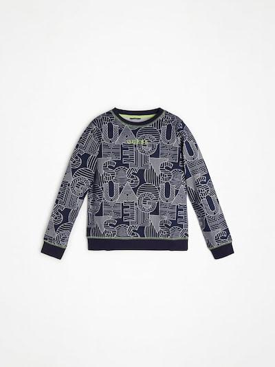 GUESS KIDS Sweatshirt in marine / weiß, Produktansicht