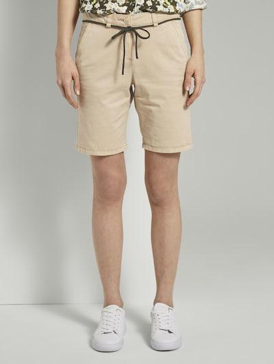 TOM TAILOR Chino kalhoty - béžová, Model/ka