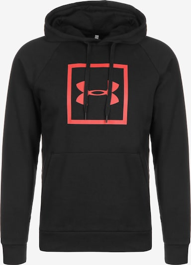 UNDER ARMOUR Pullover 'Rival' in rot / schwarz, Produktansicht