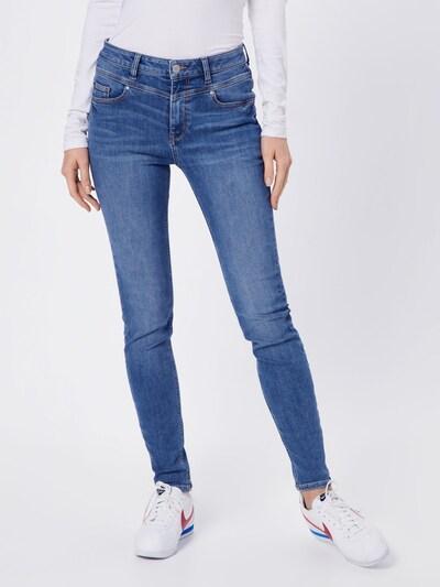 ESPRIT Jeans 'RCS HR SKINNY' in de kleur Blauw denim, Modelweergave