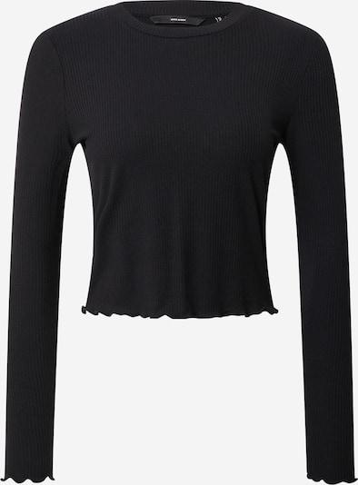 VERO MODA T-shirt en noir, Vue avec produit