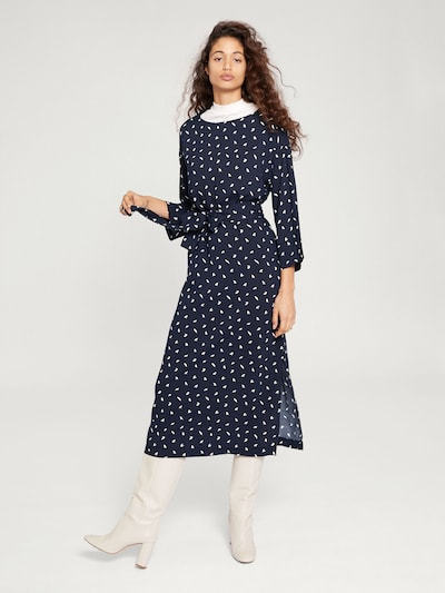 Suknelė 'Aurelien' iš EDITED , spalva - nakties mėlyna / balta, Modelio vaizdas