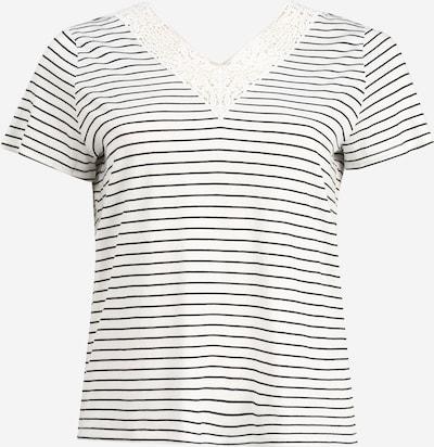 Vero Moda Curve Shirt 'HELA' in nachtblau / weiß, Produktansicht