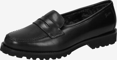 SIOUX Slipper 'Vedara-LF' in schwarz: Frontalansicht