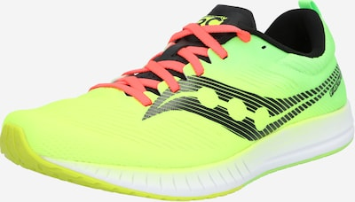saucony Chaussure de course 'FASTWITCH 9 ' en jaune fluo / vert, Vue avec produit