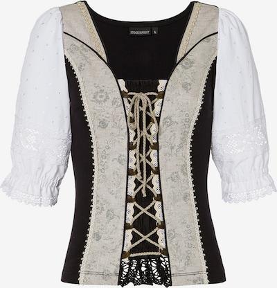 STOCKERPOINT Shirt 'Uki2' in nude / schwarz / weiß, Produktansicht