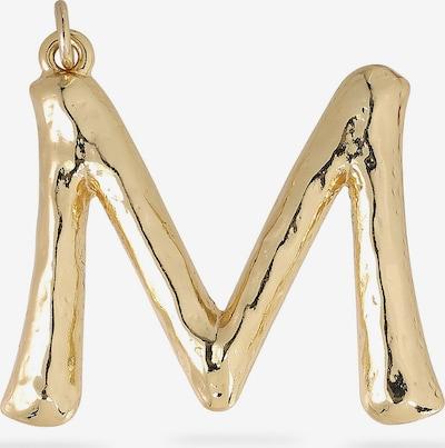 Etiketė 'Big Letters M' iš Pilgrim , spalva - Auksas, Prekių apžvalga