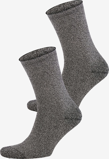JOOP! Socken 'Lurex Sock' in grau: Frontalansicht