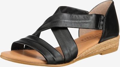Paul Vesterbro Klassische Sandalen in schwarz, Produktansicht