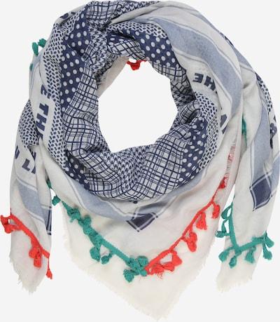 CODELLO Schal 'PLAY OUT LOUD' in blau / rot / weiß, Produktansicht