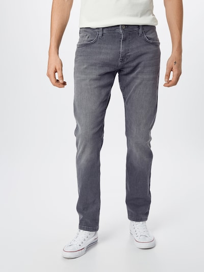 EDC BY ESPRIT Jeans in grey denim, Modelansicht