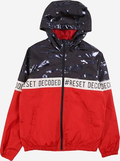NAME IT Tussenjas in de kleur Donkerblauw / Rood / Wit, Productweergave