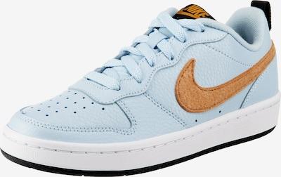 Nike Sportswear Sneakers 'COURT BOROUGH LOW 2' in hellblau / braun, Produktansicht