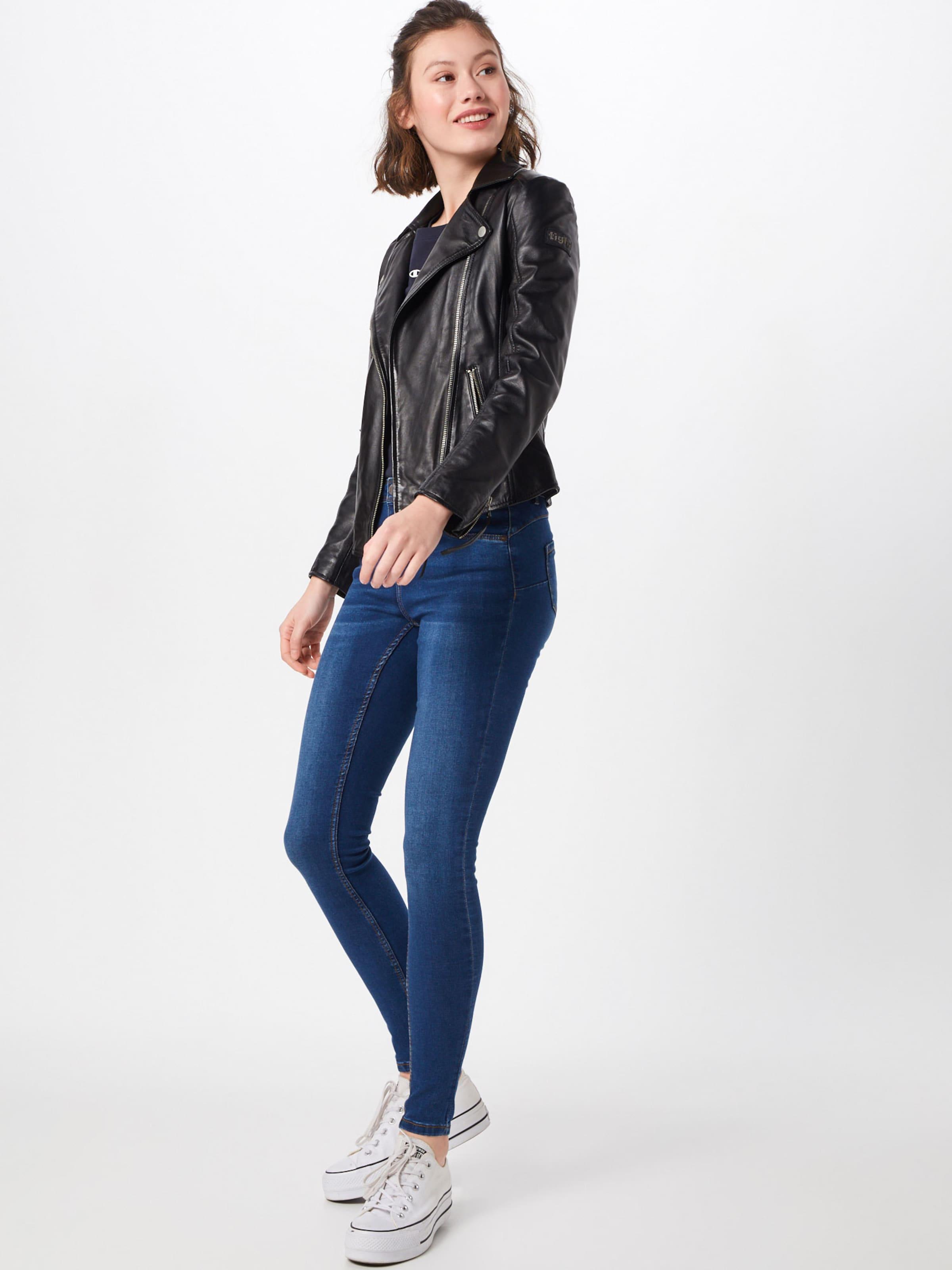 Noisy may Jeans 'JEN' i blå denim