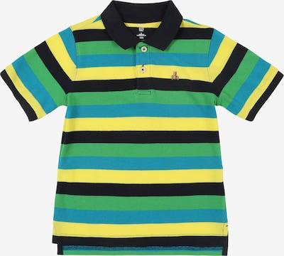 GAP Tričko 'FR SS STRIPE POLO' - modrá / žlutá / zelená, Produkt